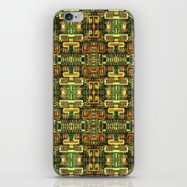 Circuit board v8 iPhone Skin