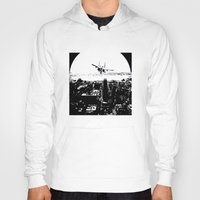 airplane Hoodies featuring airplane by Anand Brai