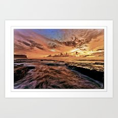 Red Dawn  Art Print