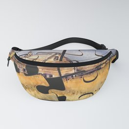 Barn Puzzle Fanny Pack