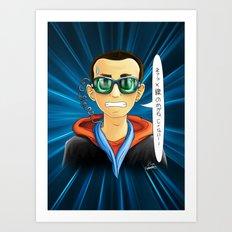 X-Ray Glasses Art Print