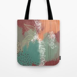 campfire two Tote Bag