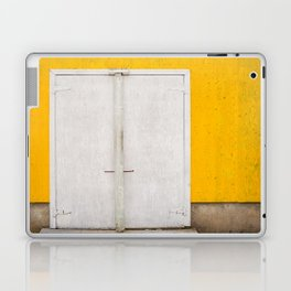 Northwest Cove ice building Laptop & iPad Skin