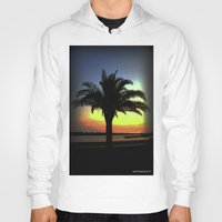 palm Hoodies featuring Palm by Chris' Landscape Images & Designs