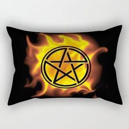 Anti-Demon Star Rectangular Pillow