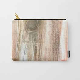 Wood Planks Carry-All Pouch