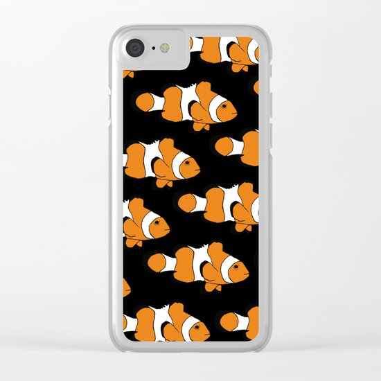 Clownfish Clear iPhone Case