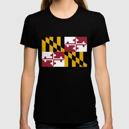 State flag of Flag Maryland T-shirt