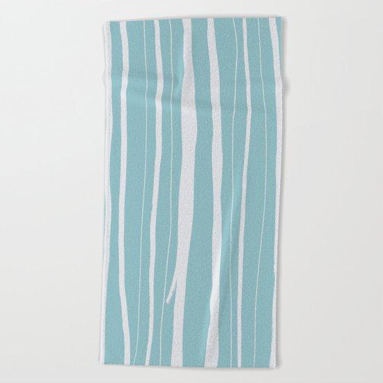 Vertical Living Salt Water Beach Towel
