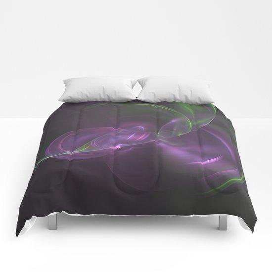 Cosmic Aurora Fractal Comforters