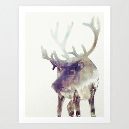 The Reindeer  Art Print