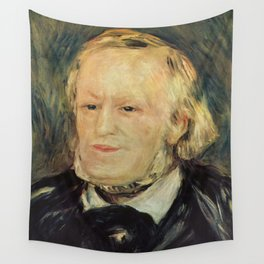 Richard Wagner (1813 – 1883) by Auguste Renoir (1841 - 1919) in 1882 Wall Tapestry