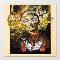 The Living God Canvas Print