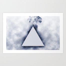 Smokey Side of the Moon Art Print