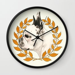 French Bulldog - @french_alice dog Wall Clock