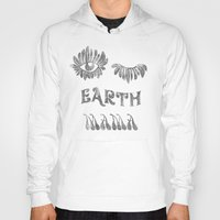 woodstock Hoodies featuring Earth mama by daniroxanne
