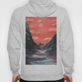Reflections of a valley Hoody