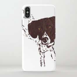 German Shorthaired Pointer iPhone Case