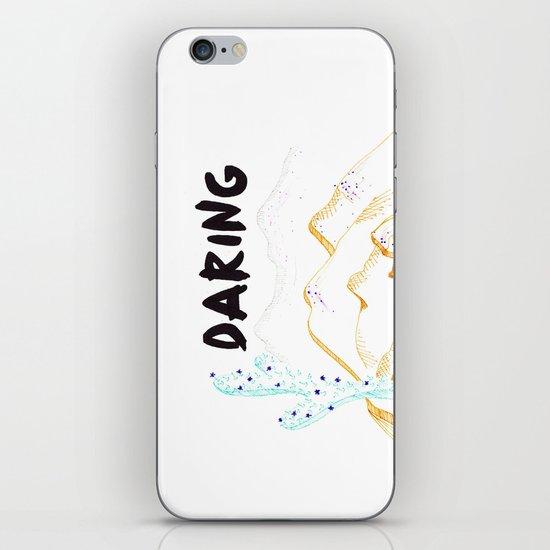 Daring. iPhone & iPod Skin