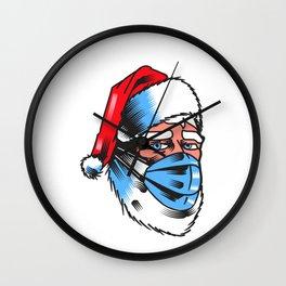 Santa Claus real Wall Clock