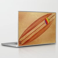 surfboard Laptop & iPad Skins featuring Surfboard by Laure.B