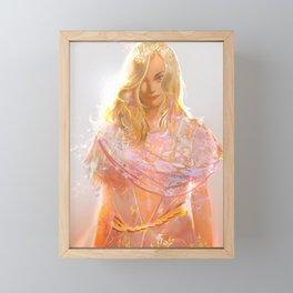 "Aphrodite (""Charm of of the Ancient Enchantress"" Series) Framed Mini Art Print"