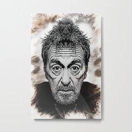 Al Pacino - Caricature Metal Print