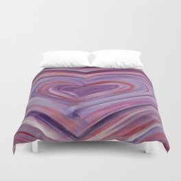 Heart Love Portal  Duvet Cover