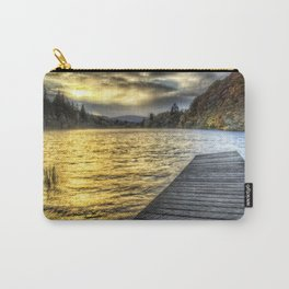 Loch Ard Jetty at Sunset Carry-All Pouch