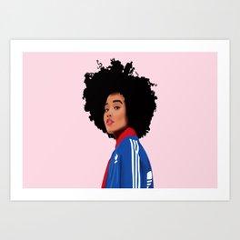Amandla Art Print