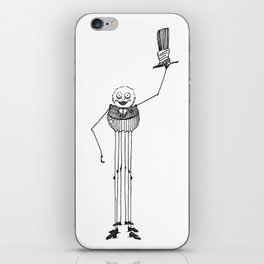 The Friendly Spider iPhone Skin