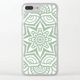 Mandala 23 Clear iPhone Case