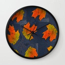 MOSAICO OTOÑAL Wall Clock