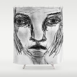 A Loving Grief. Shower Curtain