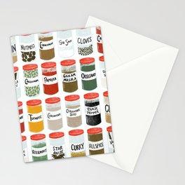 Spice Rack Stationery Cards