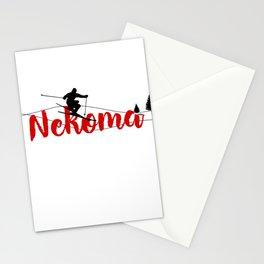 Ski at Nekoma Stationery Cards