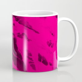 Electric Pink Waves Coffee Mug