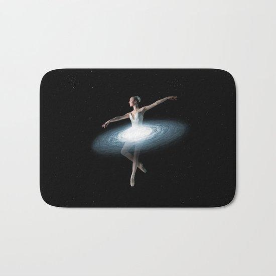 Galactic dancer Bath Mat