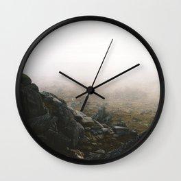 Misty Rams Head Wall Clock