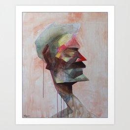 Drowsy Portraits - Bugged Art Print