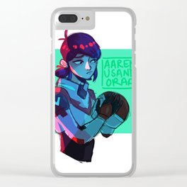 Red Marinette Clear iPhone Case