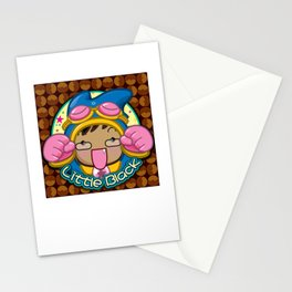 Japanese cartoon characters Stationery Cards