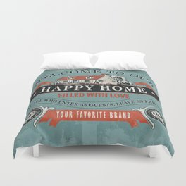 Our Home Duvet Cover