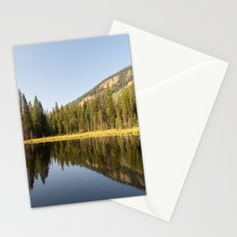Grand Teton National Park, Moose Ponds Reflection, Nature Landscape, Wilderness Decor, Forest Photo Stationery Cards