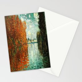 Monet : Autumn Effect at Argenteuil Stationery Cards