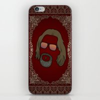 the dude iPhone & iPod Skins featuring Dude by DE.FE.