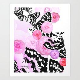 Camellia Blush Art Print