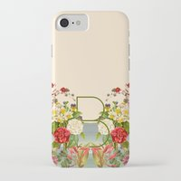 botanical iPhone & iPod Cases featuring Botanical by Blue Jean Genie
