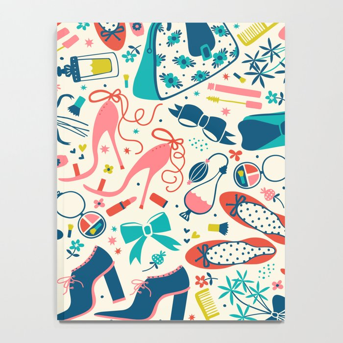Heels and Handbags Notebook