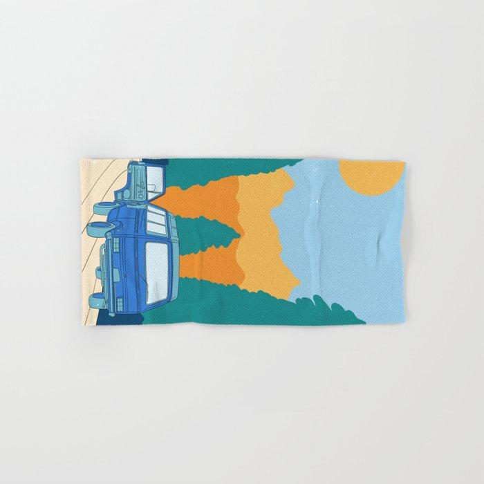 Road Trip Hand & Bath Towel